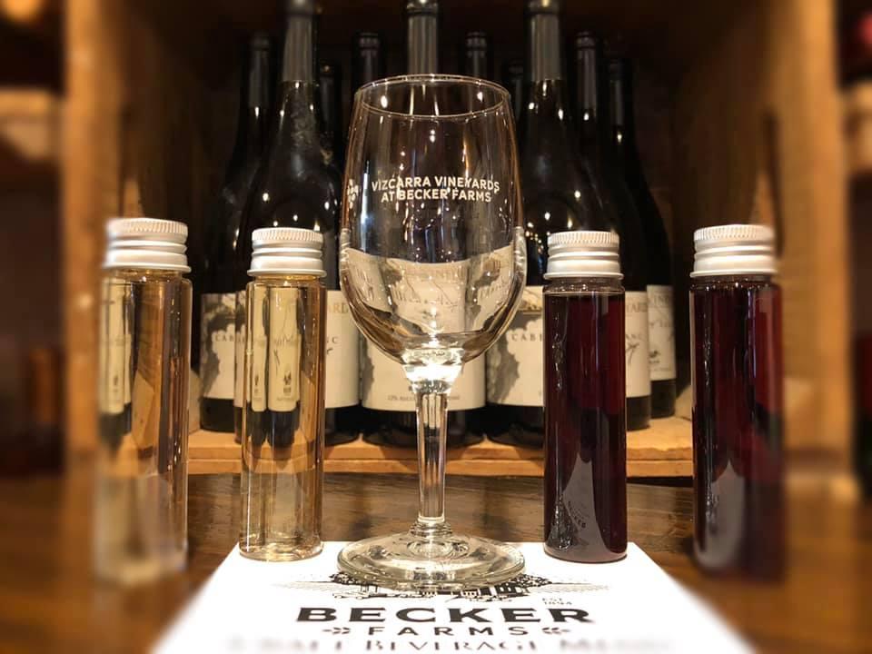 Wine Tasting Becker Farms