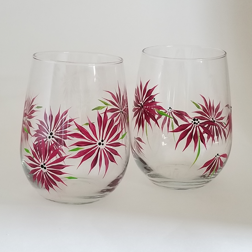 Hand Crafted Wine Glasses