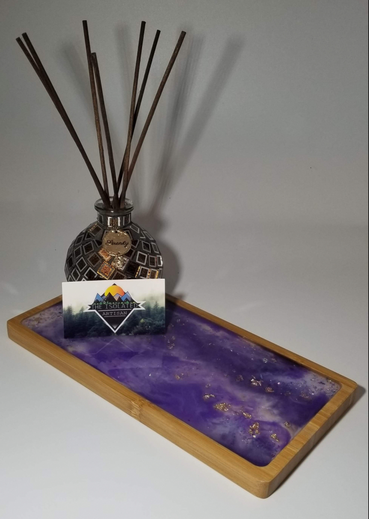 Pic 2 of Isolated Artisan's Serving Tray