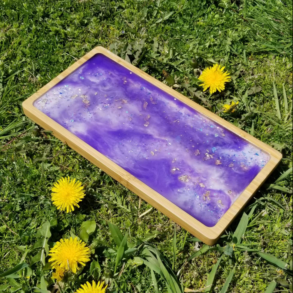 Isolated Artisan's Serving Tray