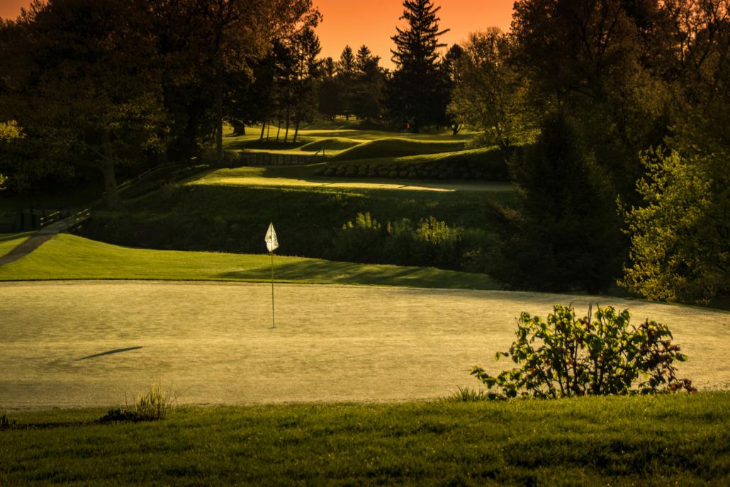 Niagara Frontier Golf Club at Dawn