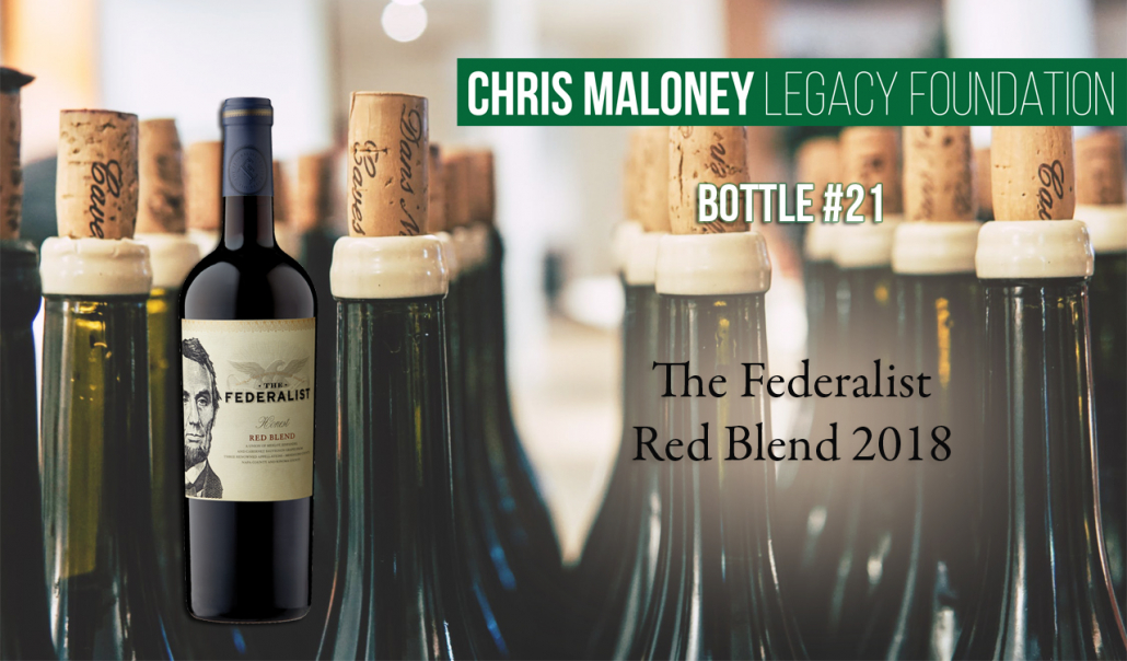 The Federalist Red Blend 2018