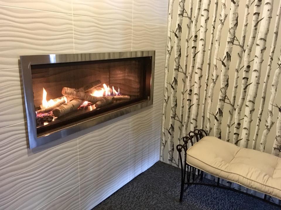 American Eagle - Fireplace